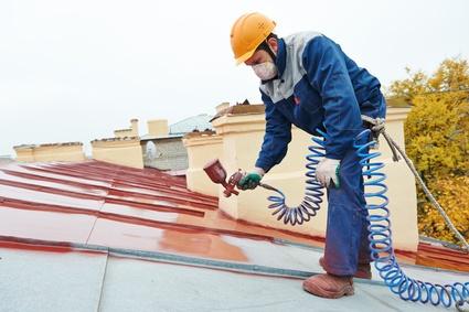 peinture de toit